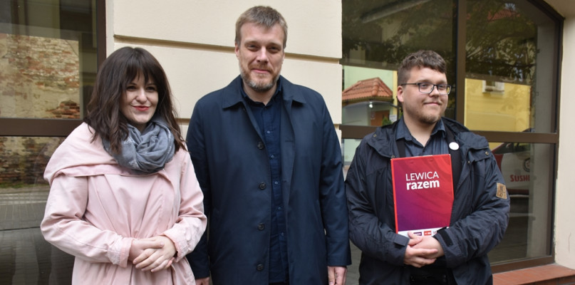 Adrian Zandberg w Płocku: Skończmy z tym patologicznym zjawiskiem - Zdjęcie główne
