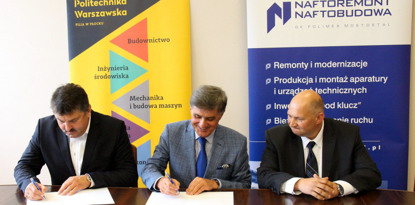 Naftoremont-Naftobudowa i Politechnika będą współpracować - Zdjęcie główne
