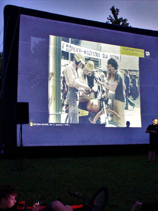 Filmowy Płock w Parku Północnym - Zdjęcie główne