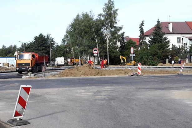 Skrzyżowanie na Podolszycach zamknięte - Zdjęcie główne
