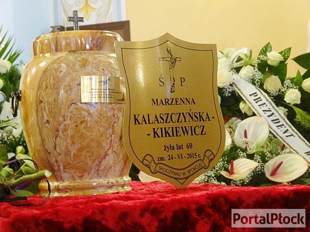 Płocczanie pożegnali Marzenę Kalaszczyńską - Zdjęcie główne