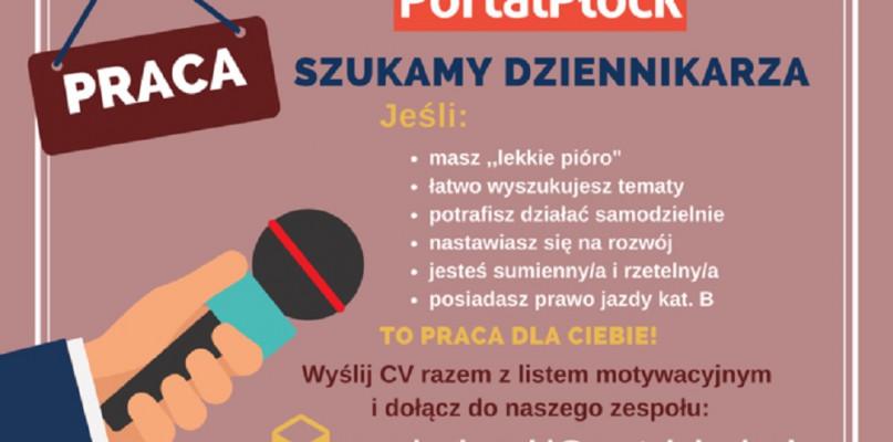 Portal Płock zatrudni dziennikarza  - Zdjęcie główne