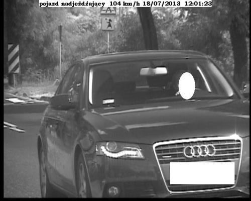 104 km/h w fotoradarze straży miejskiej - Zdjęcie główne