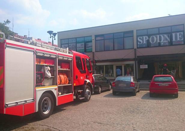 Pożar w Antypodkowie w centrum [FOTO] - Zdjęcie główne