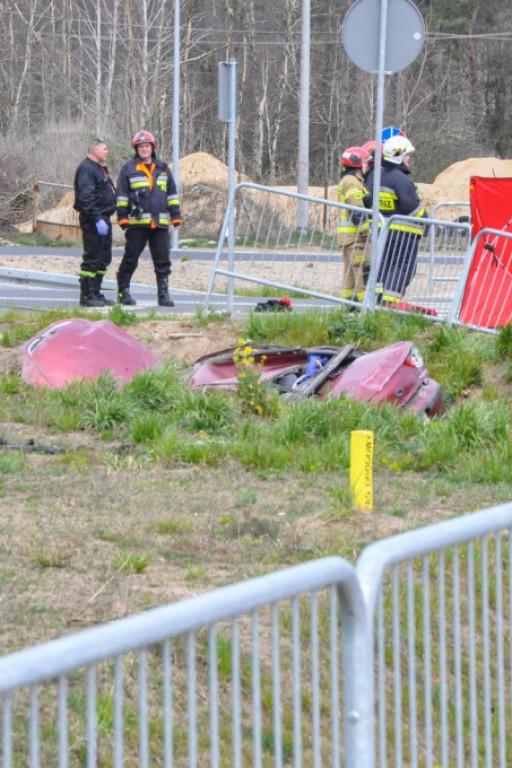 Śmiertelny wypadek w Gąbinie - Zdjęcie główne