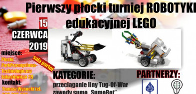 Pierwszy płocki turniej robotyki edukacyjnej LEGO® w PPPT! - Zdjęcie główne