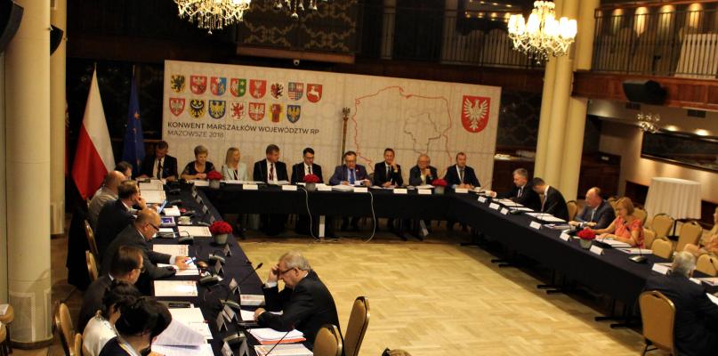 Marszałkowie wszystkich województw obradują w Płocku [ZDJĘCIA] - Zdjęcie główne