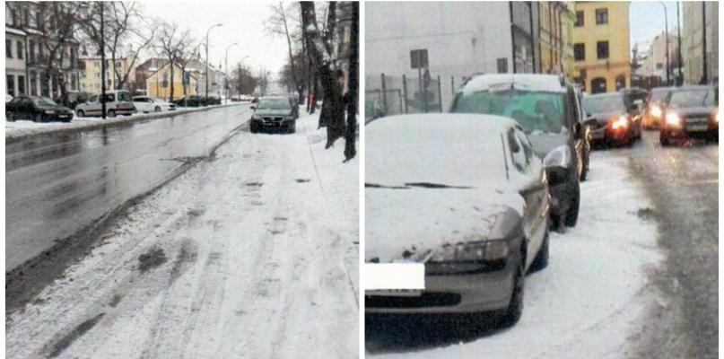 Kierowcy: Gdy spadnie śnieg, nie widać, gdzie można parkować - Zdjęcie główne