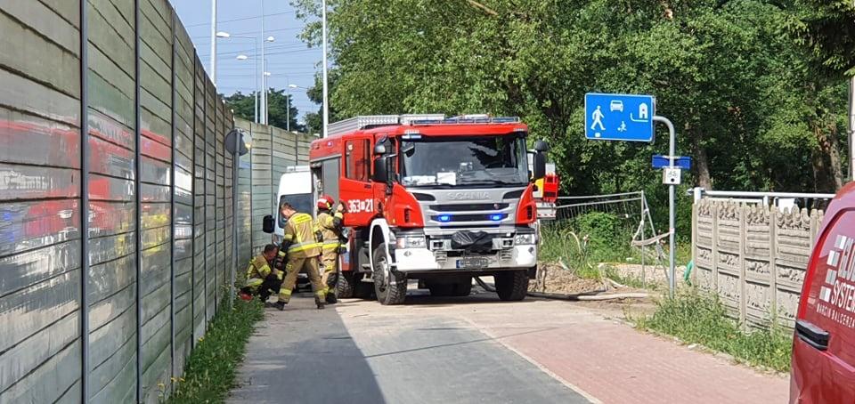 Uszkodzono gazociąg. Ewakuowano kilkunastu mieszkańców! [ZDJĘCIA] - Zdjęcie główne