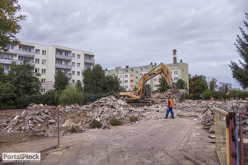 Wyburzanie przedszkola - Zdjęcie główne