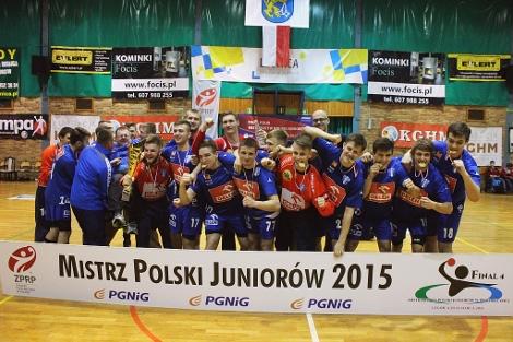 Wisła zdobyła Mistrzostwo Polski Juniorów! - Zdjęcie główne
