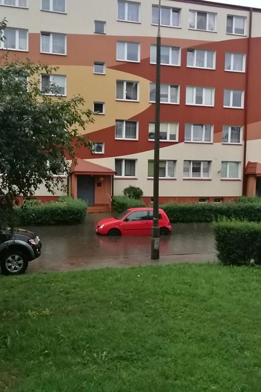 Skutki burzy nad Płockiem - Zdjęcie główne