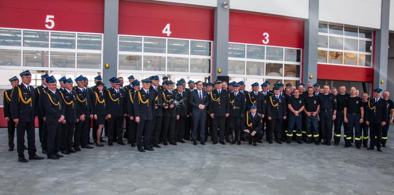 Zakładowa Straż Pożarna Orlenu kończy 55 lat. Na apel przyjechał sam prezes [FOTO] - Zdjęcie główne