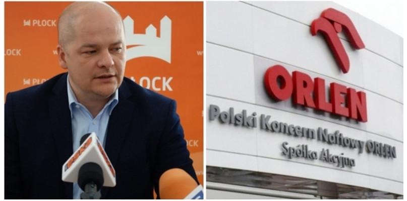 Prezydent Płocka o relacjach z koncernem: Brakuje dialogu między Orlenem a miastem - Zdjęcie główne
