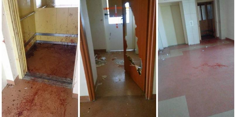 Krwawa bójka w akademiku. Są zarzuty dla napastnika - Zdjęcie główne