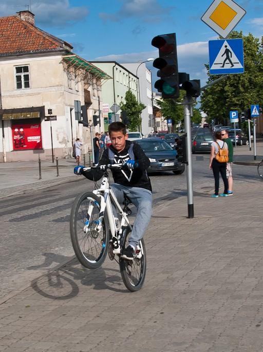 Rowerzyści przejechali przez Płock - Zdjęcie główne