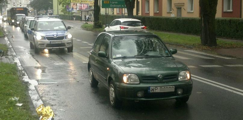 Potrącenie pieszej na pasach w centrum miasta [FOTO] - Zdjęcie główne