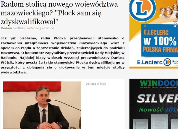 Radni z Radomia o radnych z Płocka - Zdjęcie główne