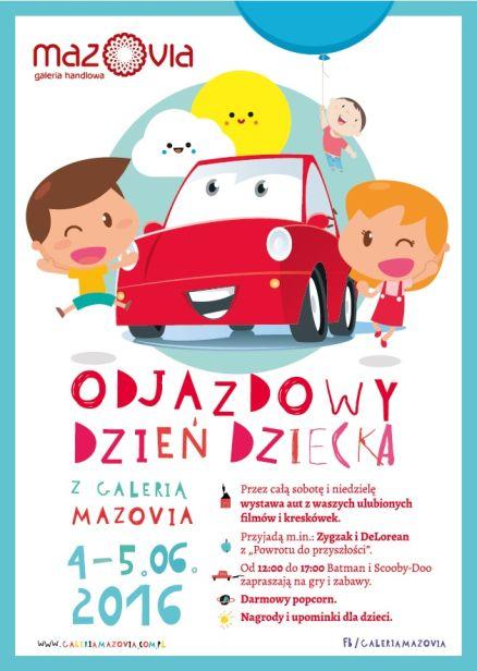 Odlotowy Dzień Dziecka w Galerii Mazovia - Zdjęcie główne