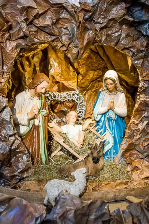 Bożonarodzeniowe żłóbki w płockich kościołach - Zdjęcie główne