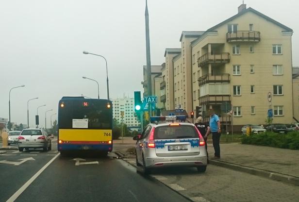 Autobus potrącił rowerzystę [FOTO] - Zdjęcie główne