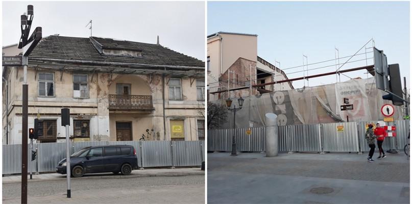 Chcieli zapobiec ewentualnej katastrofie budowlanej. Trwa rozbiórka kamienicy - Zdjęcie główne