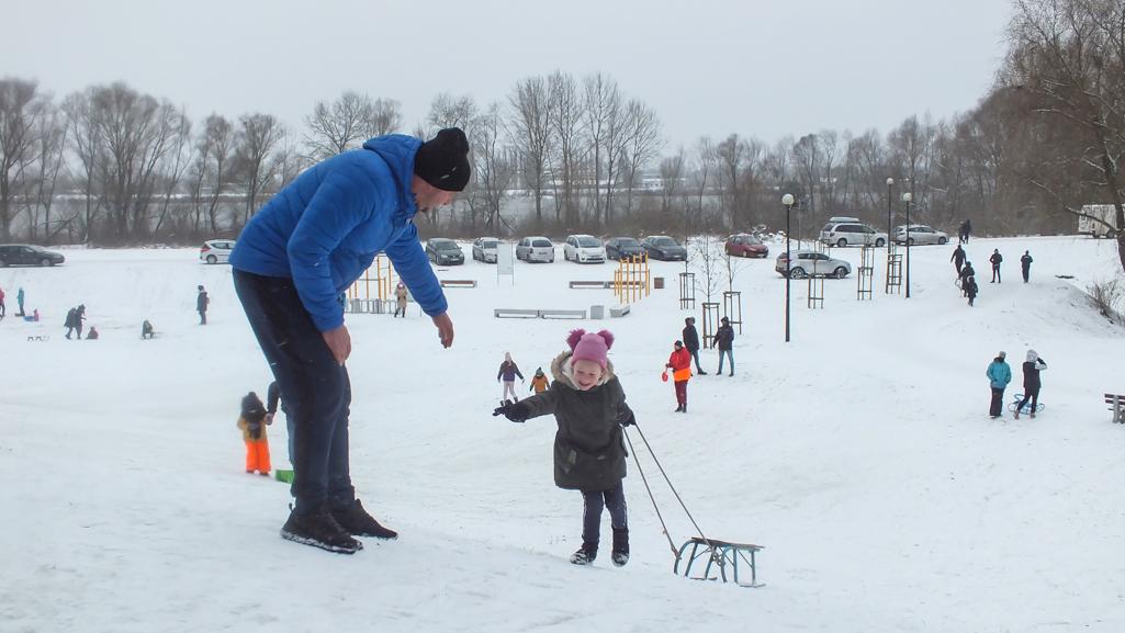 Uroki zimy. Śnieżne zabawy w Płocku  - Zdjęcie główne