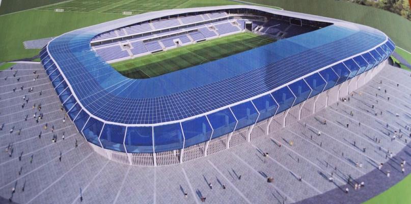 Zobaczcie najnowsze wizualizacje nowego stadionu - Zdjęcie główne