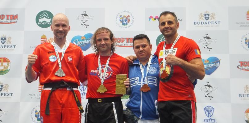 Dwa medale płocczanina w Pucharze Świata w kickboxingu - Zdjęcie główne