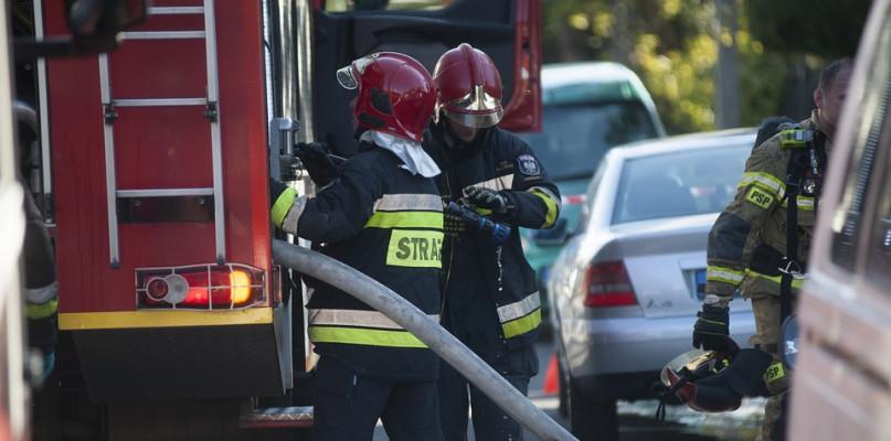 Straż Pożarna interweniowała w związku z pożarem w szpitalu - Zdjęcie główne
