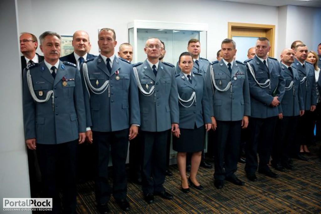 Uroczystość w policji - Zdjęcie główne