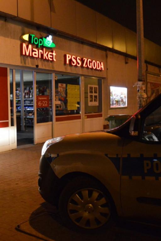 Włamanie do sklepu na u. Kobylińskiego - Zdjęcie główne