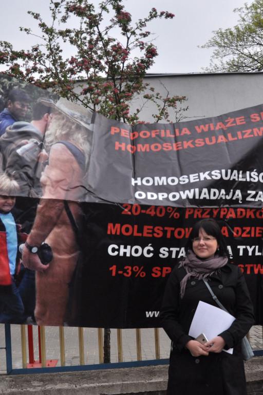 """Pikieta """"Stop dewiacji w Płocku"""" - Zdjęcie główne"""