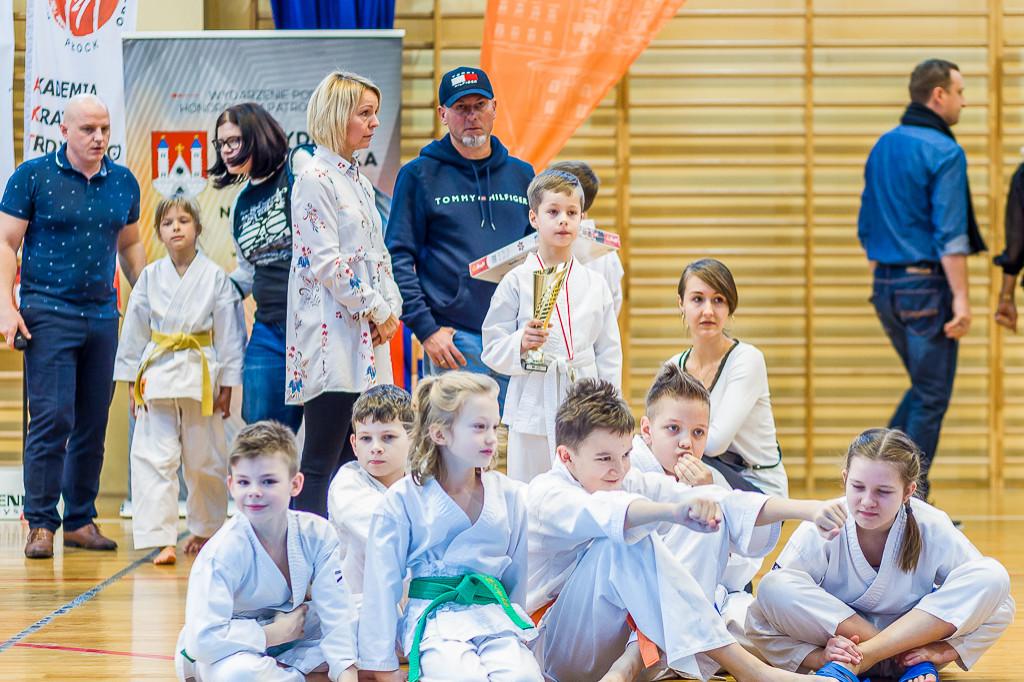 Noworoczny turniej karateków - Zdjęcie główne