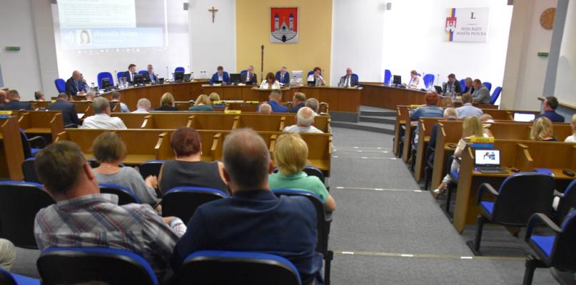 Sesja. 'Na tej sali znajduje się przyszły prezydent Płocka' - Zdjęcie główne