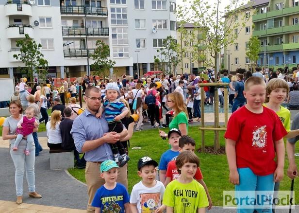 Na Dzień Dziecka skwer z fontannami[FOTO] - Zdjęcie główne