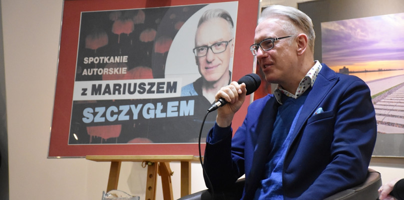 Mariusz Szczygieł: Mężczyzn często trudniej jest nakłonić do zwierzeń niż kobiety - Zdjęcie główne