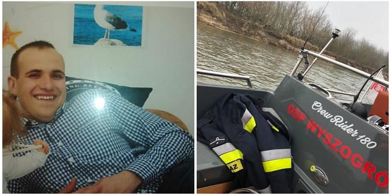 Wozy strażackie i policyjne nad Wisłą. Trwa akcja poszukiwawcza - Zdjęcie główne
