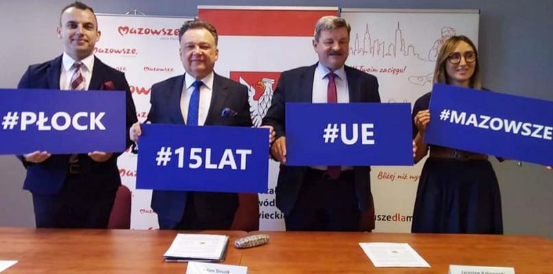 15 lat w Unii Europejskiej. O sukcesie Mazowsza, zagrożeniach dla Polski i Płocka - Zdjęcie główne
