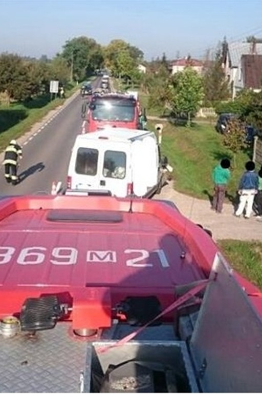 Wypadek w Słubicach - Zdjęcie główne