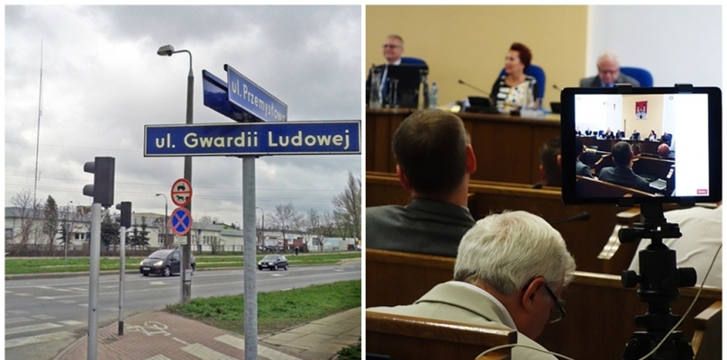Nowe nazwy ulic już obowiązują. Zamiana Gwardii Ludowej budzi upiory - Zdjęcie główne