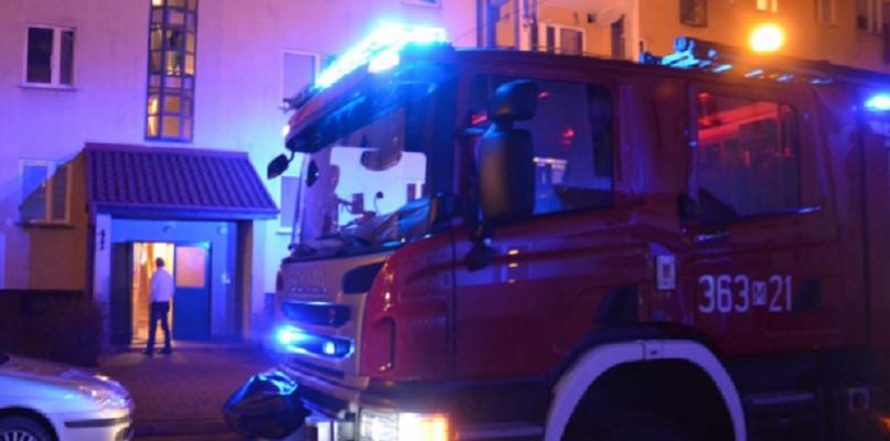 Pożar na Podolszycach. Płonęło mieszkanie - Zdjęcie główne