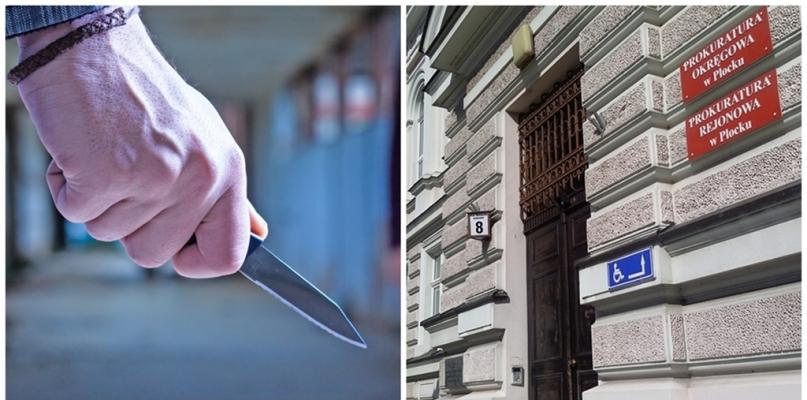 Zaatakował kobietę nożem. Prokuratura stawia zarzut - Zdjęcie główne