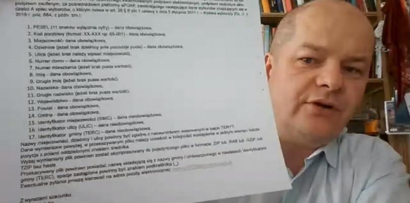 Poczta domaga się spisu wyborców od miasta. Andrzej Nowakowski: nie przekażemy danych - Zdjęcie główne