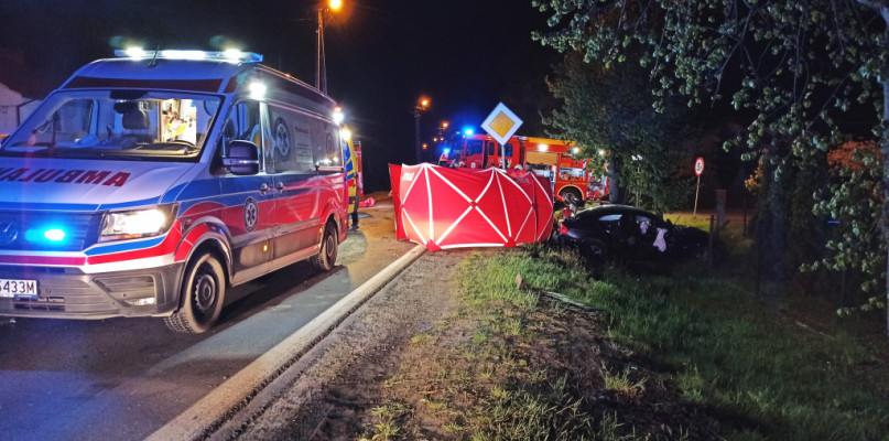 Tragiczny wypadek w Dobrzykowie. 17-latek zginął na miejscu  - Zdjęcie główne