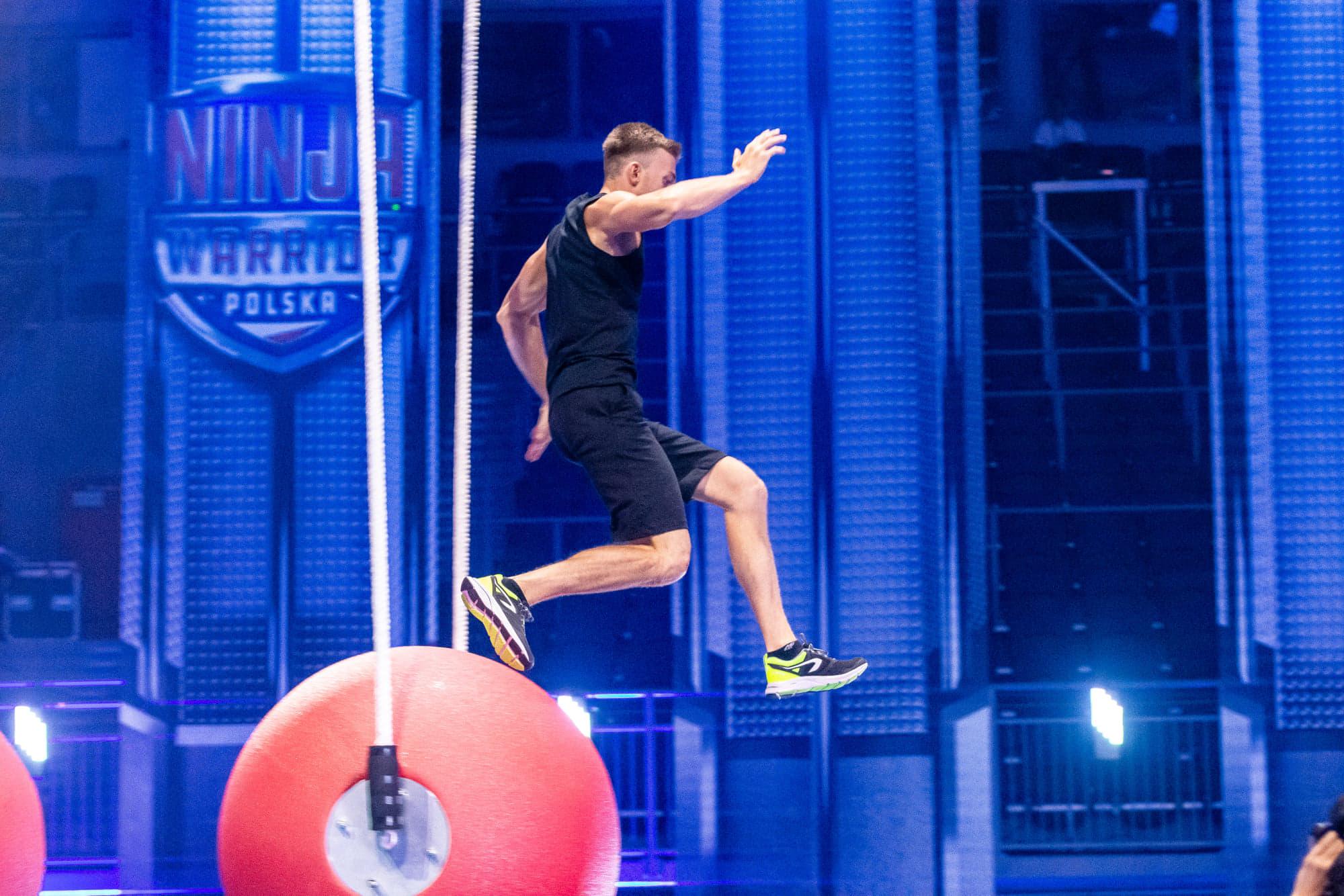 Płocczanin pokonał morderczy tor Ninja Warrior. Adrian Fabrykiewicz w finale programu - Zdjęcie główne