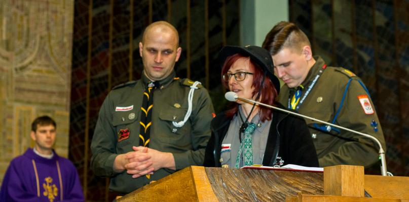 Harcerze obchodzili 25-lecie działania na ziemi płockiej [FOTO] - Zdjęcie główne