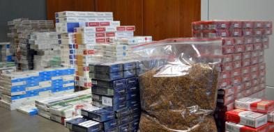 Nielegalne papierosy w rękach płockiej policji - Zdjęcie główne