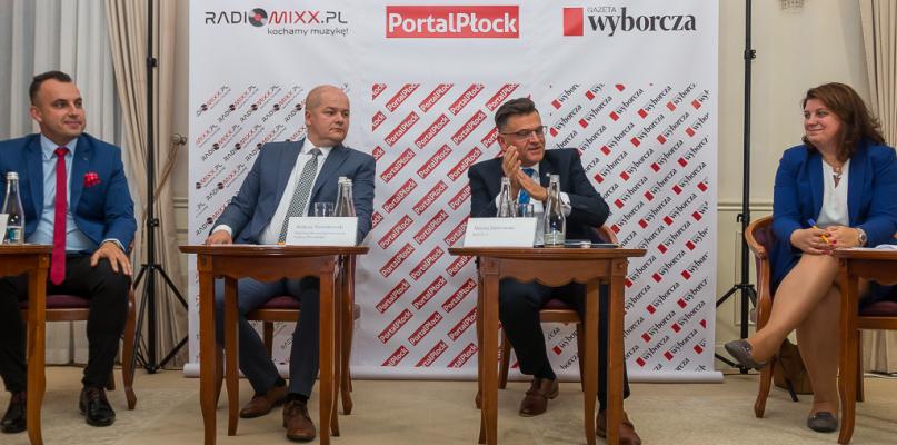 Debata kandydatów na prezydenta Płocka [VIDEO] - Zdjęcie główne