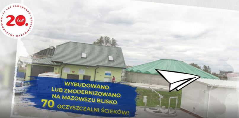 """""""PRO(W)ste historie- 15 lat województwa mazowieckiego w UE""""- Oczyszczalnie [VIDEO] - Zdjęcie główne"""